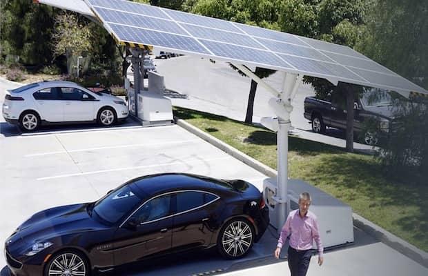 Envision Solar EV Charging Massachusetts