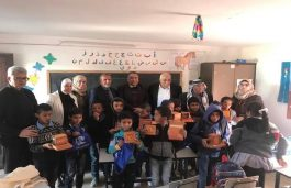 India Donates Solar Lamps to Palestinian School Children