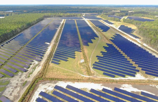 Solar FlexRack 105 MW North Carolina