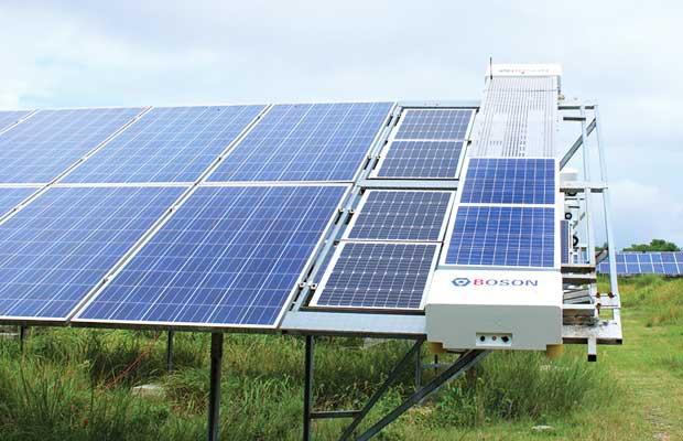 Boson Robotics solar panels