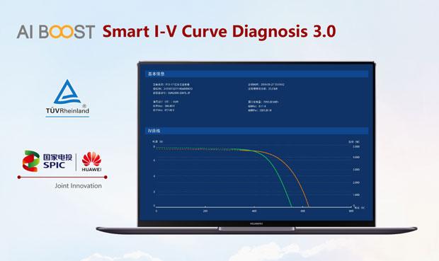 Huawei AI boost smart i-v curve diagnosis 3.0