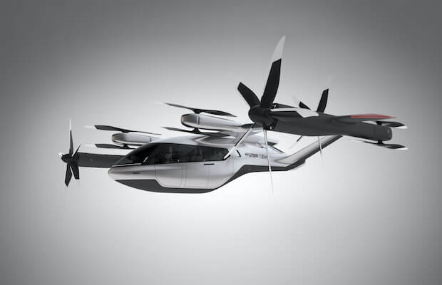 Uber Hyundai Air Taxis