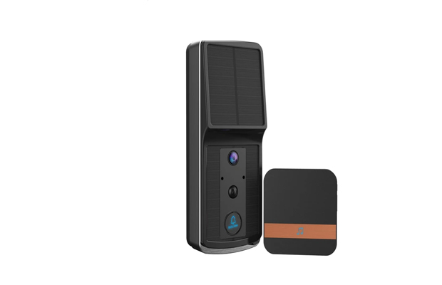 Soliom Solar Powered Wirefree Video Doorbell Saur Energy