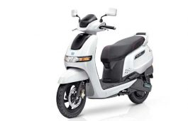 TVS Motor Forays into E-Mobility; Launches TVS iQube Electric Scooter