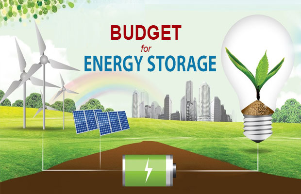 Budget for Energy Storage