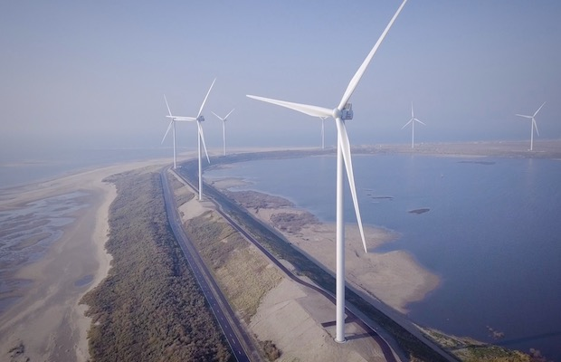 Eneco Wind Farm Netherlands