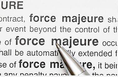 Force majeure clause