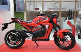 Hero Electric Launches Electric Motorcycle 'AE-47' at Auto Expo 2020