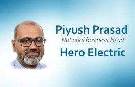 Hero Electric Ropes in Piyush Prasad As National Business Head