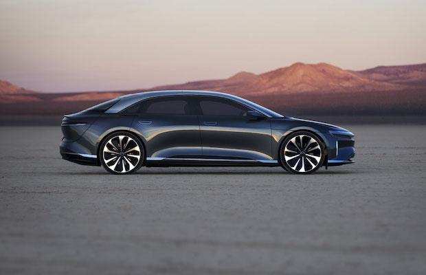 LG Chem Lucid Motors EV