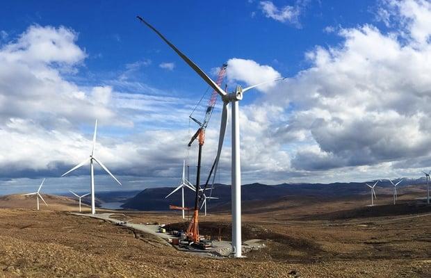 Europe Wind 15.4 GW 2019