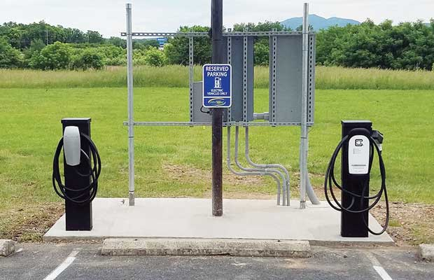Solar Energy And Electric Vehicle Ev Charging Infrastructure