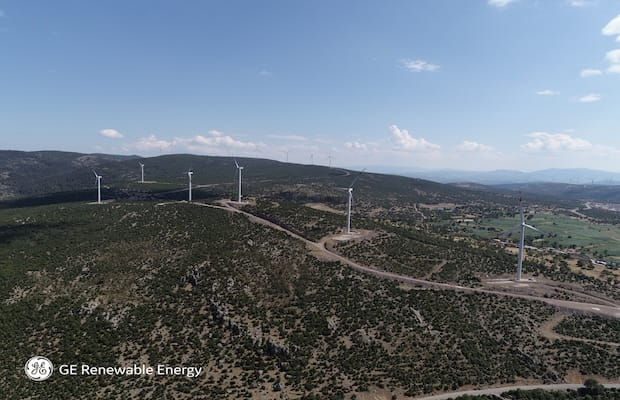 GE Wind Farm Turkey