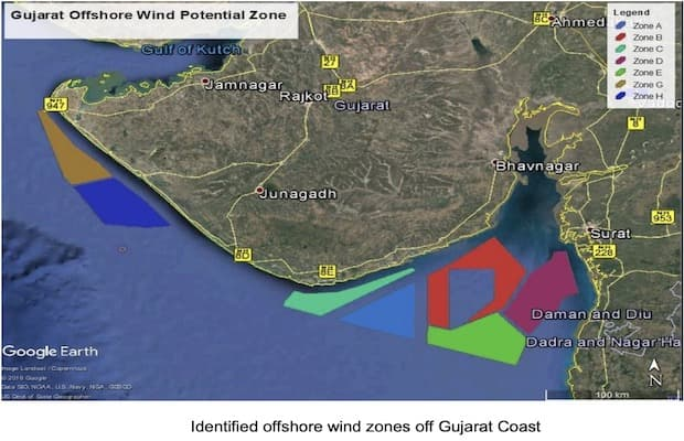 Offshore Wind Potential Tamil Nadu Gujarat