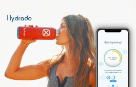 Hydrade – Solar Powered Double Wall Smart Bottle