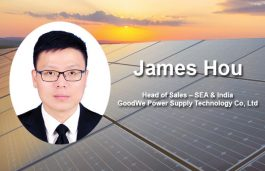 We are Planning to Launch 1500V Inverter Solution for Indian Market: James Hou
