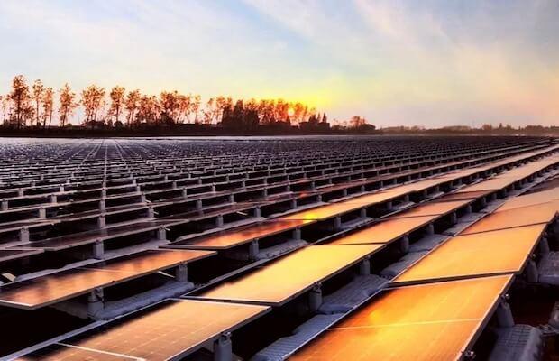 LONGi 100 MW Floating Solar