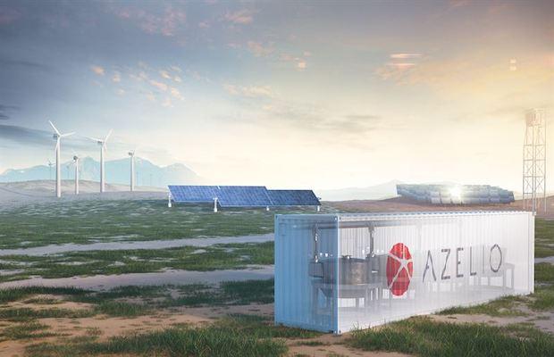 Azelio MoU Storage Mining