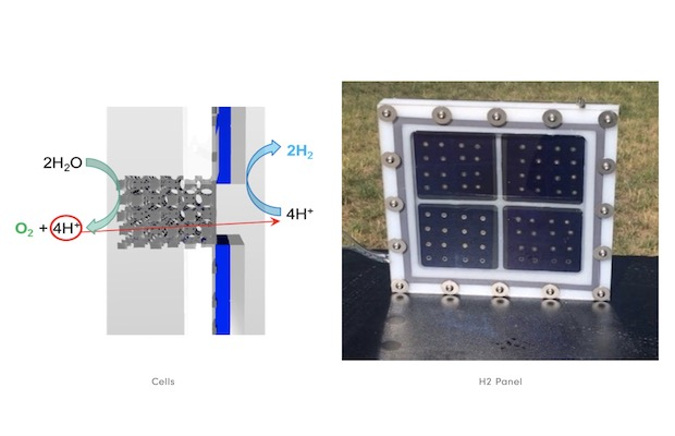 HyperSolar Solar Hydrogen Panels