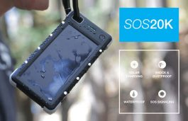 SOS 20K Portable Solar Battery