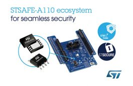 ST's New STSAFE-A110 Secure Element Protects IoT Devices