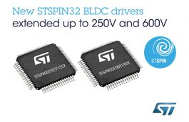 ST Introduces New Devices in Motor Control System Family