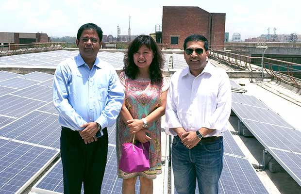 Trina Solar Wins First 100MW
