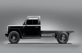 Bollinger Mortors Unveils World's 1st Class 3 Electric Truck Platform