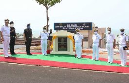 Indian Navy's ENC Commissions 2 MW Solar Plant at INS Kalinga