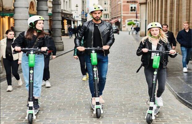 Uber Lime Electric Scooter