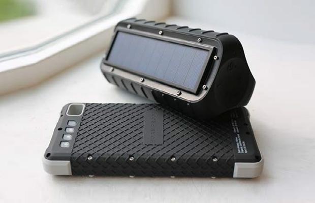 MacroBoom: Rugged Solar Speakers