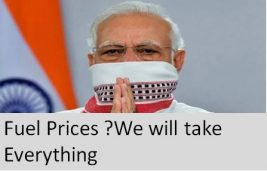 Government First. Record Drop in Global Fuel Prices leads to Record Tax Hikes in India