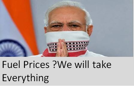 Modi and Fuel Prices