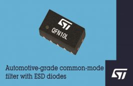 ST Integrates Common-Mode Filter, ESD Suppression in New Automotive-Protection Devices
