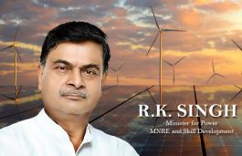 R.K. Singh Demolishes 'Canards' Against  Power Reforms At Presser