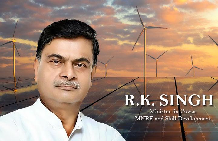 Union Power Minister R.K. Singh