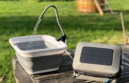 The GoSun Flow Offers Solar Powered Purifier, Sanitation System