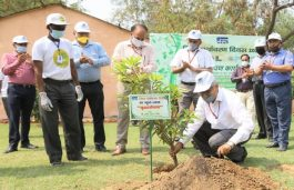 NHPC Inaugurates Herbal Park – Developed to Make Staff Aware of Herbs