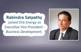 Orb Energy Hires Rabindra Satpathy as Exec VP – Business Development