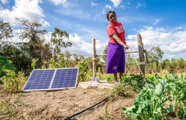 Solar Lights a Path for Agricultural and Economic