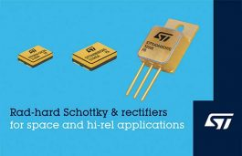 ST Unveils Extra-Rugged Power Rectifiers to Extend Portfolio for Space Applications