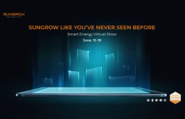 Sungrow Smart Energy Virtual Show to Kick off on June 15th 2020