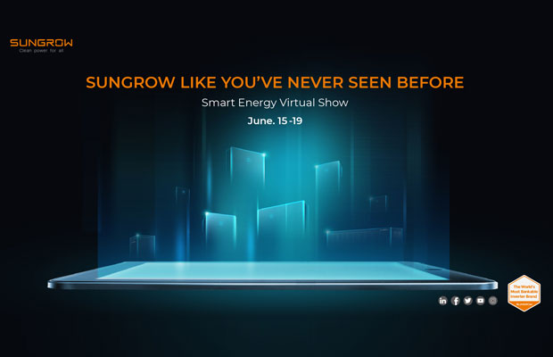 Sungrow Smart Energy Virtual Show to Kick off on June