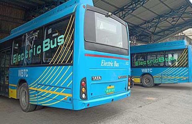 E-buses Kolkata