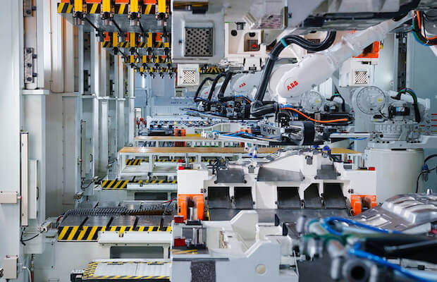 Xpeng EV Factory China
