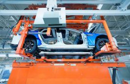 Xpeng Motors Unveils its new Self Made Smart EV Factory in China
