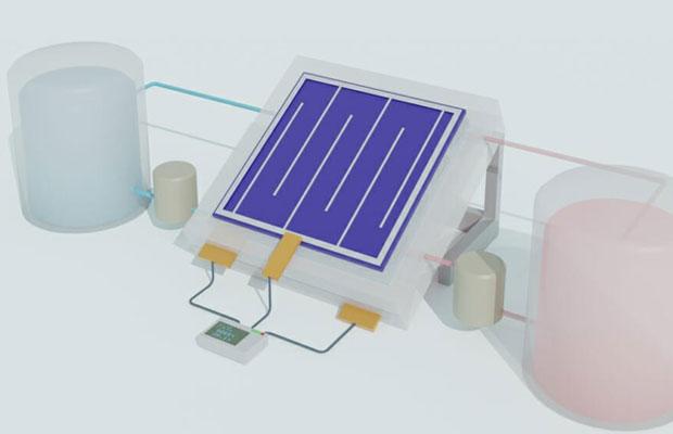 solar flow battery