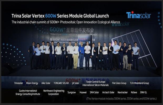 Trina Solar 600W Modules