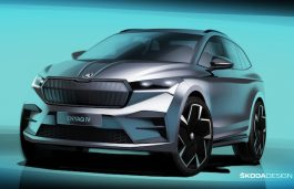 "Škoda to Present its First All-Electric SUV ""ENYAQ iV"" on Sept 1"