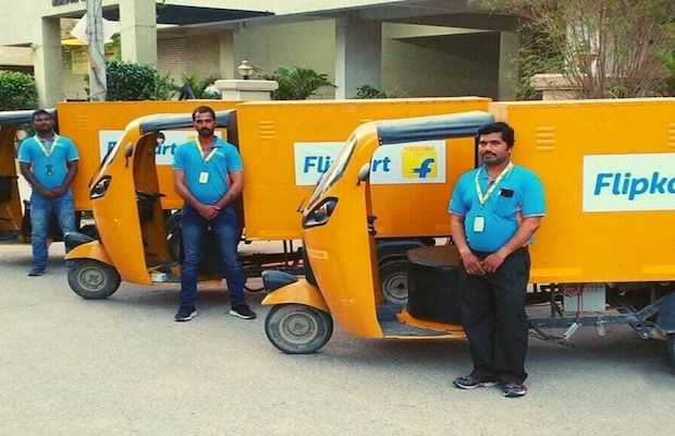 Flipkart EV Fleet by 2030